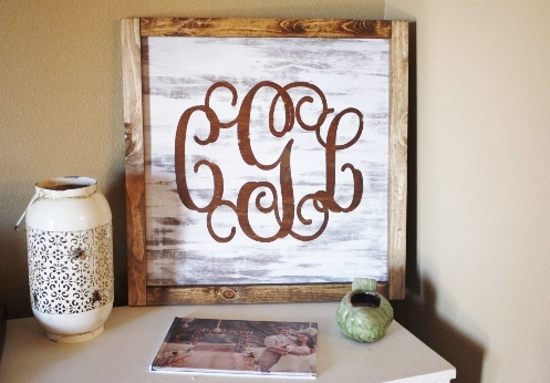 rustic personalized home decor sign - Personalized Home Decor